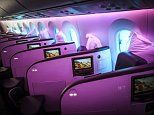 Review of Virgin Atlantic's upper class Dreamliner cabin