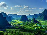 Breathtaking images show the stunning beauty of Vietnam's landscape