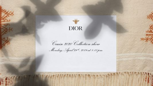 Watch: Dior Cruise 2020 fashion show, live from Marrakech