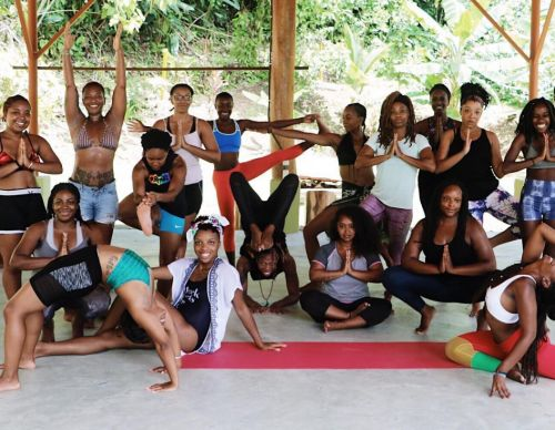 Someone's running a retreat in Costa Rica just for women of colour