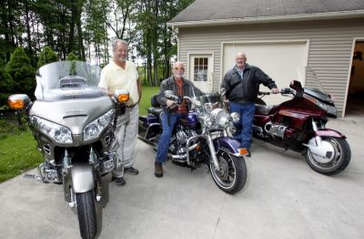 Bob Dyer: Three buddies will reprise monster motorcycle trip