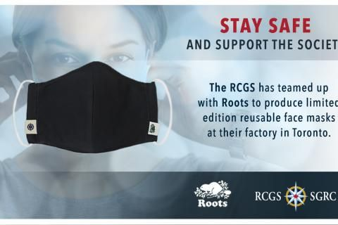 RCGS, Roots team up to create non-medical face masks