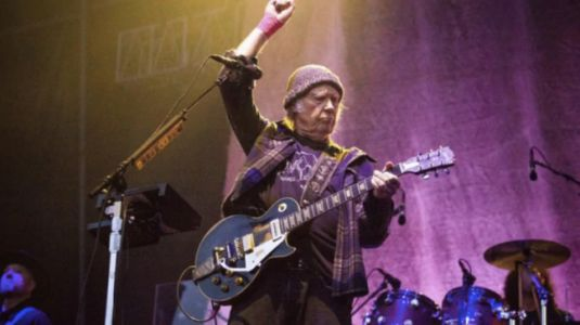 Musician Neil Young sues Donald Trump's reelection campaign for copyright infringement