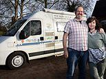Couple quit their jobs and swap £500,000 house to travel the world in a camper-van