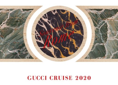 Watch: Gucci Cruise 2020 fashion show, live from Rome
