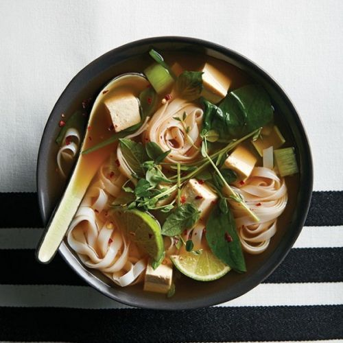 Gingery-tofu noodle soup, plus 4 more dinner recipes