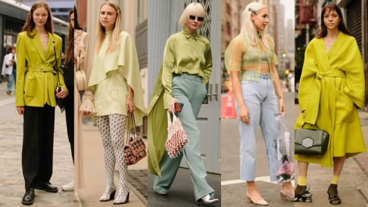 Fashion People Love Green Now, According to the Street Style on Day 7 of New York Fashion Week