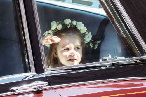 Prince George And Princess Charlotte Steal The Show At The Royal Wedding