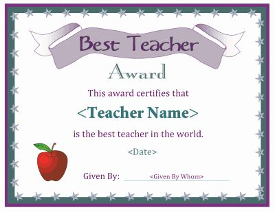 30 Best Of Award Certificate Template Microsoft Word Pics