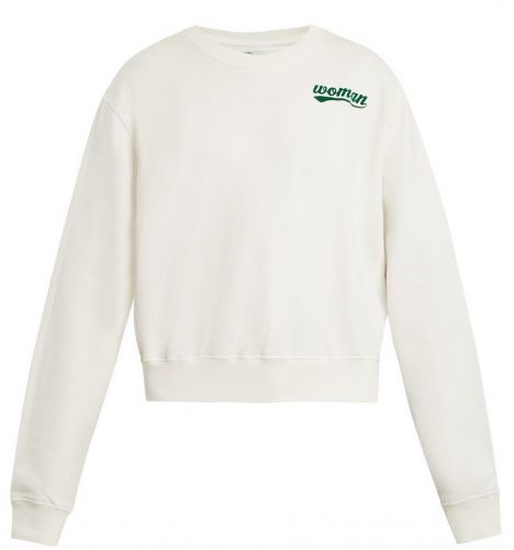 The Off-White Crew Neck That Alyssa Sees As a Subtle Entry to Streetwear