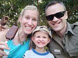 South Africa giraffe attack: Wife and son fight for their lives