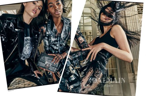 See Balmain's Spring 2018 Ad Campaign Here