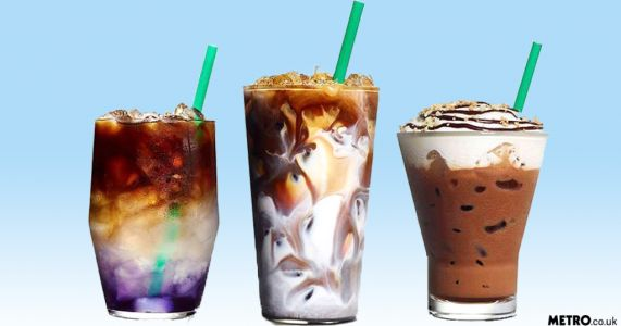 Starbucks is offering psychedelic colour-changing drinks that look almost too pretty to drink