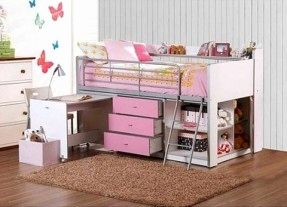 30 Beautiful Loft Bed with Desk for Teenagers Pics