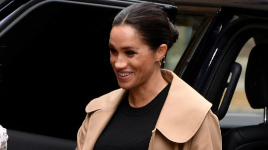 Meghan Markle Wore a Thing: Oscar de la Renta Camel Coat Edition