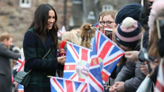 WATCH: Prince Harry, Meghan Markle visit Edinburgh