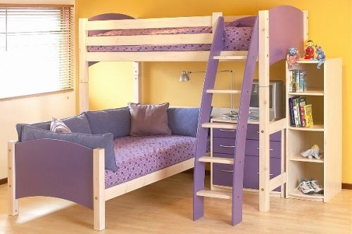 30 Luxury Girls Bunk Beds with Desk Pictures