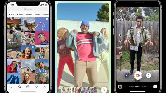 Reels, a new video clip feature, is Instagram's answer to Tik Tok