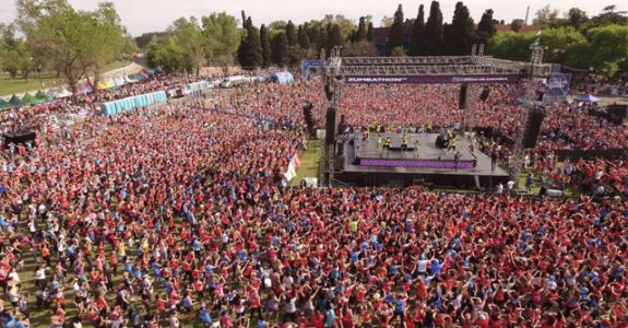 This Is The Largest Zumba® Class That Has Ever Happened