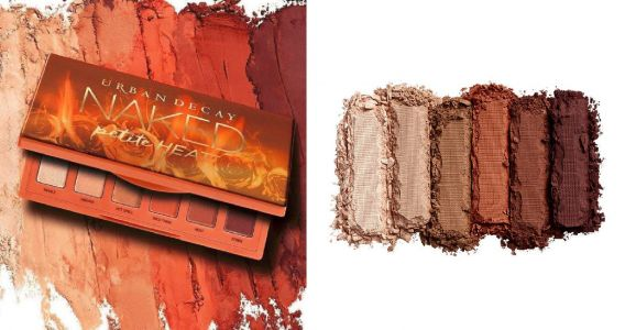 Urban Decay is having a flash sale for their new Naked Petite Heat Eyeshadow Palette