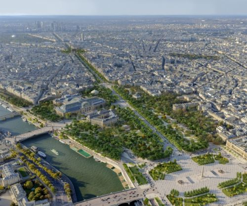 Champs-Élysées To Undergo Green Transformation