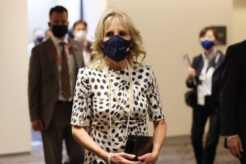 First Lady Jill Biden Goes for a Subdued Look at the 2021 Olympics Opening Ceremony