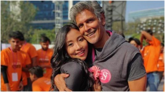 Ankita Konwar shares romantic video with her one and only Milind Soman. Watch