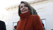Nancy Pelosi's Famous Red Power Coat Is Officially For Sale Again