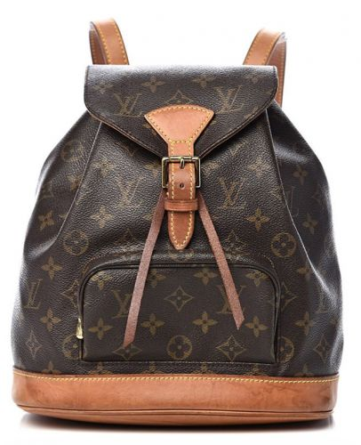 The Iconic 1994 Louis Vuitton Monogram Montsouris Backpack is Back