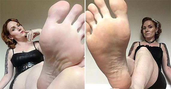 Instagram model makes thousands by posting photos of her feet online