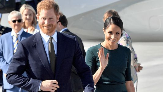 Meghan Markle Wore a Thing: Givenchy Skirt and Top Edition