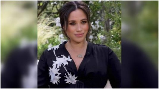 Pregnant Meghan Markle is elegant in Rs 3.2 lakh dress for interview with Oprah Winfrey