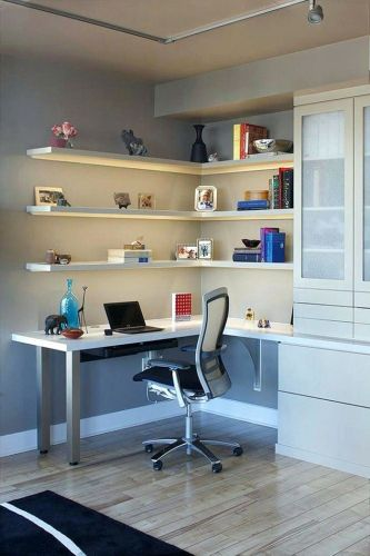 30 New Corner Desk with Bookcase Images
