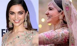 Did Deepika Padukone wear Anushka Sharma's wedding earrings before her?