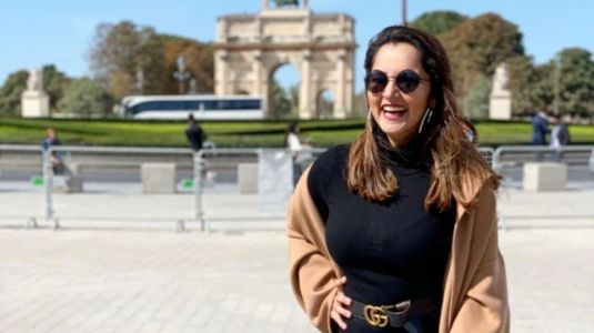 Sania Mirza is mommy fashion goals on sister Anam Mirza's Paris bachelorette trip. All pics