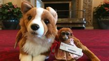 Queen Returns Lost Toy Monkey To Australian Girl