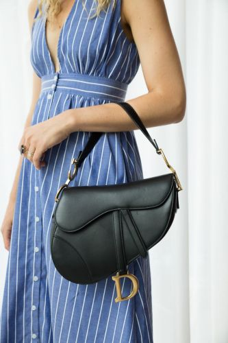 The Dior Saddle Bag is Officially Back in Stores