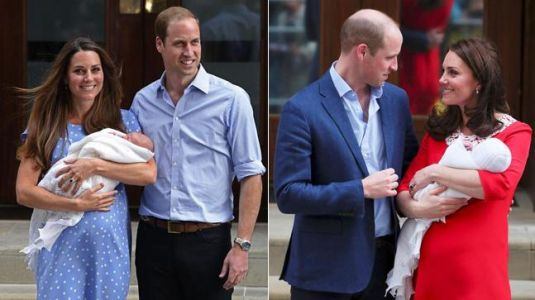 Here's a look at all the times Kate Middleton made an appearance right after delivery