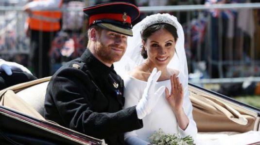 Here's what Prince Harry and Meghan Markle's guests ate at the royal wedding