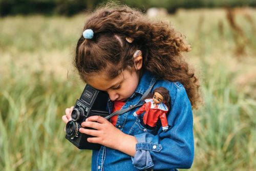 Lottie Dolls' new doll has a cochlear implant - which is great for children with hearing impairments
