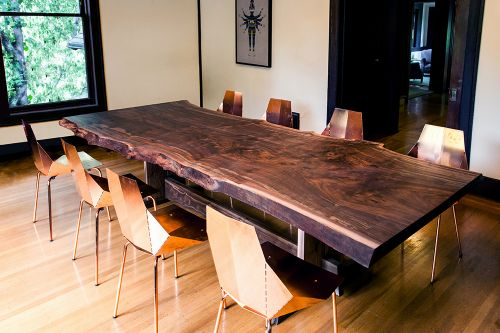 50 Luxury Natural Edge Dining Table Images