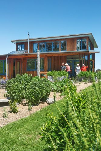 This couple spent 10 years designing a timber eco-home and co-housing village near Whanganui