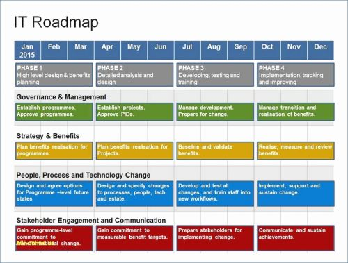 30 Beautiful Free Roadmap Template Powerpoint Graphics