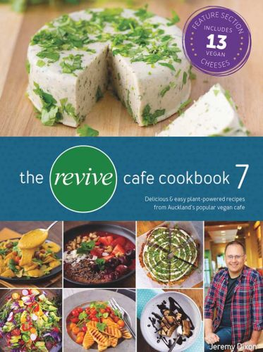 Be in to win a complete 7 volume set of the vegetarian Revive Cafe cookbooks, valued at $210