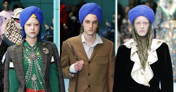 Dear Gucci, using a Sikh turban as a fashion accessory is not okay