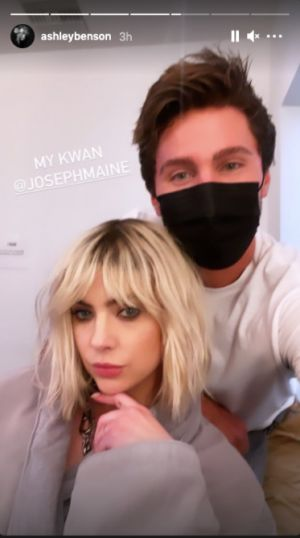 Ashley Benson Is the Next Celeb to Get Curtain Bangs & They're Perfect