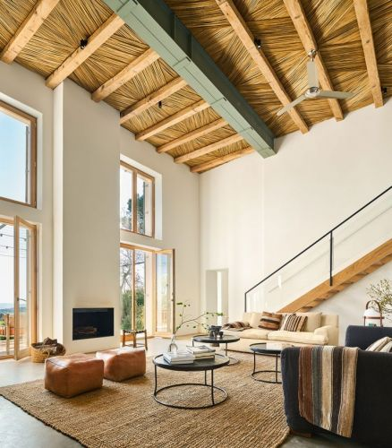 A Designer's Modern Rustic Holiday Home in Spain