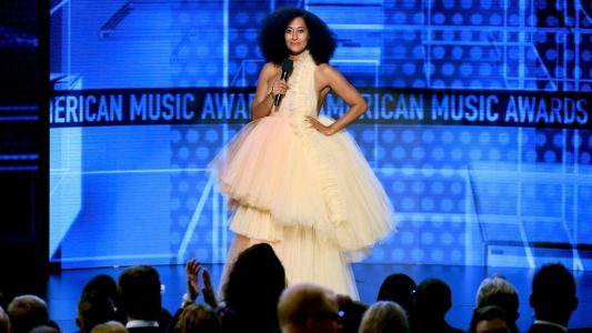 Tracee Ellis Ross Only Wore Black Designers While Hosting the 2018 AMAs