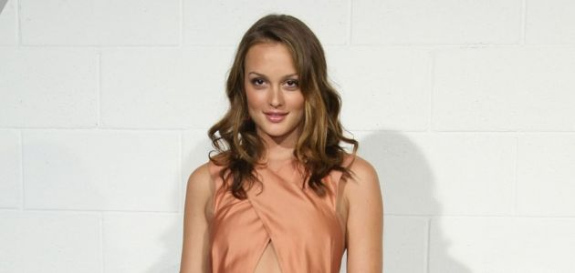 Great Outfits in Fashion History: Leighton Meester Is Peachy-Keen in Chloé