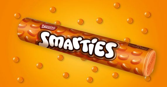 You can now buy giant tubes of orange Smarties from Asda